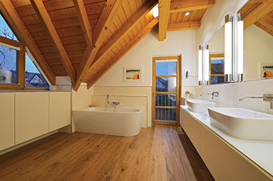 Badezimmer sanieren und renovieren schreinerei gruler in aixheim - Ausgefallene fliesen ...