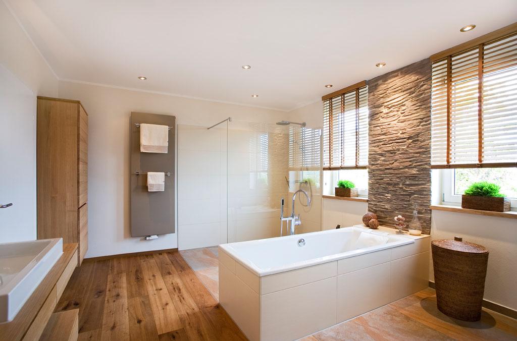 superb badezimmer holzboden eiche #1: Bad renovieren mit Schreinerei Gruler in Trossingen Rottweil