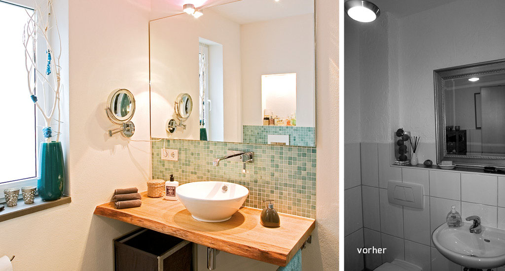 Lovely Badezimmer Waschbecken Modern #13: Badezimmer Von Der Schreinerei Gruler In Trossingen