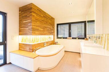 Badezimmer sanieren und renovieren - Schreinerei Gruler in Aixheim | {Badezimmer rustikal modern 45}