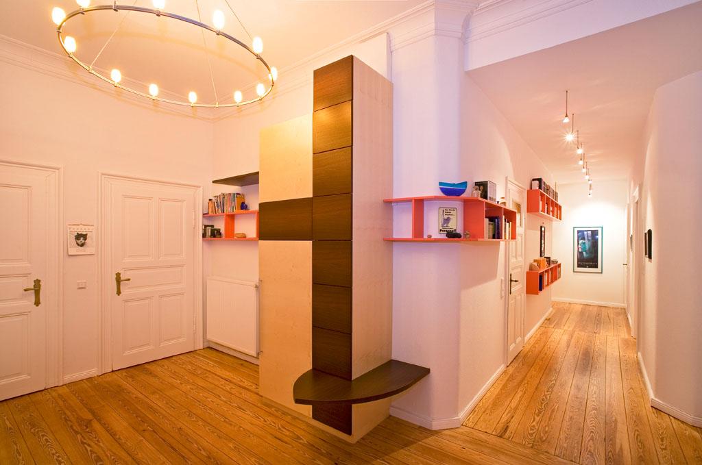 Garderoben aus massivholz von der schreinerei gruler in for Flur garderoben modern