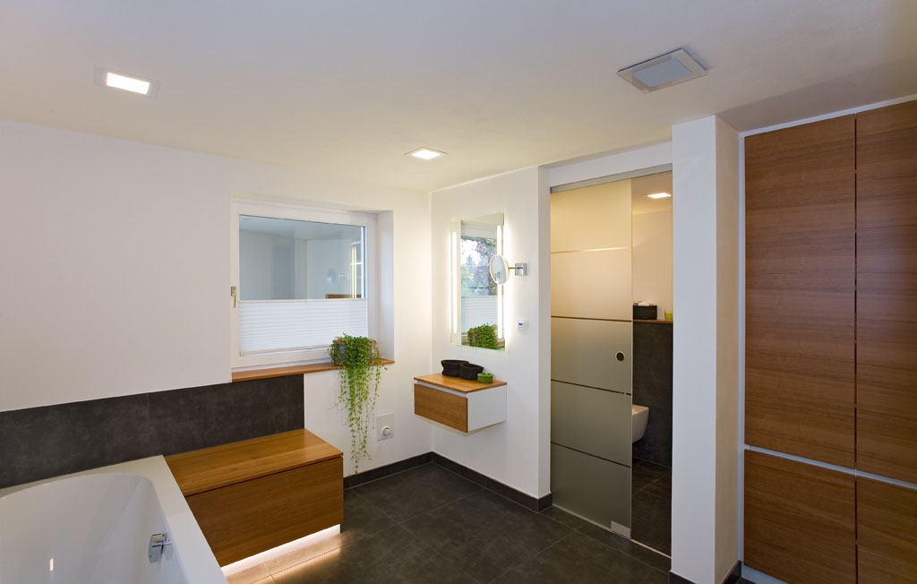 Schiebet ren als zimmert r und raumteiler schreinerei - Trennwand glas wohnzimmer ...