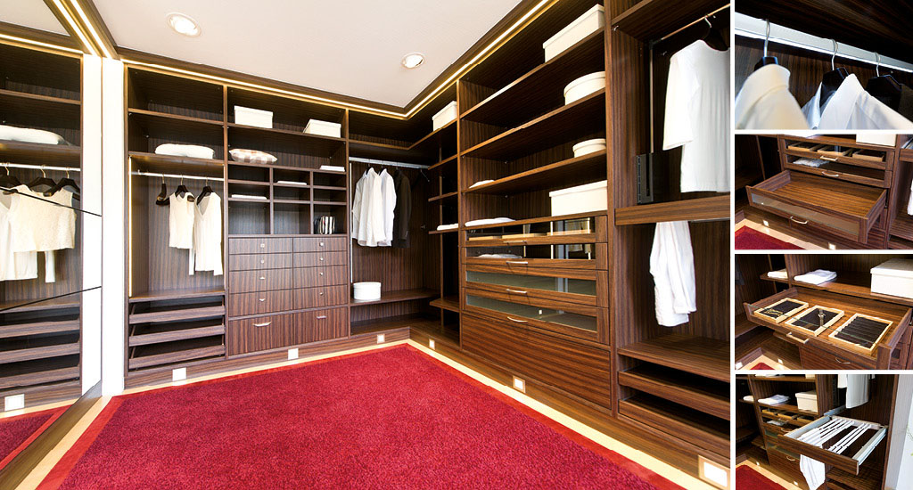 begehbarer kleiderschrank systeme dachschrge. Black Bedroom Furniture Sets. Home Design Ideas