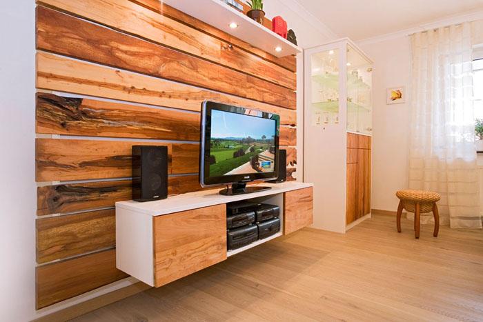 Tv sideboard holz  TV-Möbel und Hifi Möbel vom Schreiner Franz Gruler in Aixheim ...