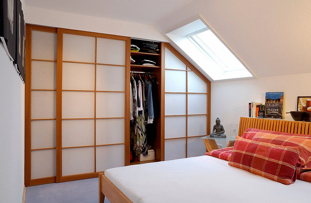 Begehbarer Kleiderschrank und Schlafzimmerschrank - Schreinerei ...