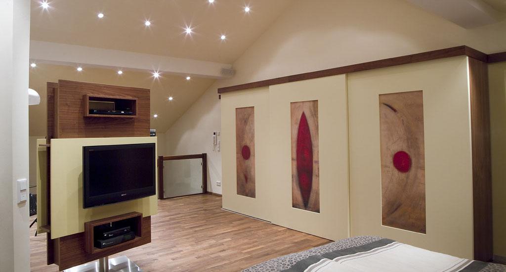 Begehbarer Kleiderschrank und Schlafzimmerschrank ...