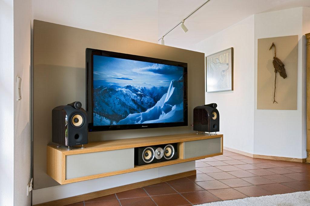 Tv m bel und hifi m bel vom schreiner franz gruler in aixheim trossingen - Raumteiler tv wand ...