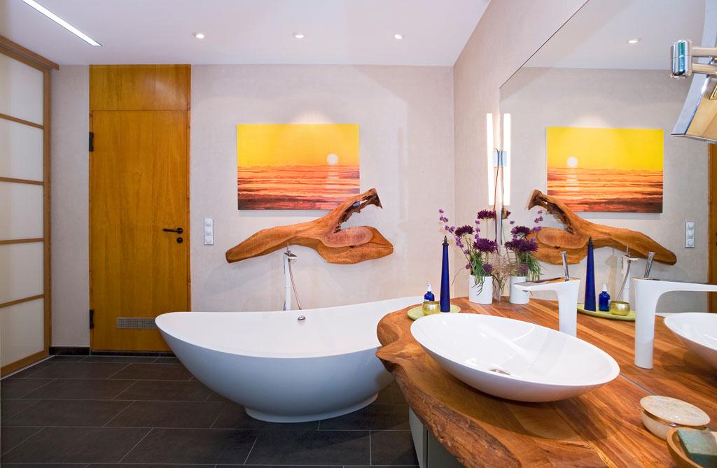 badewanne rustikal, badezimmer sanieren und renovieren - schreinerei gruler in aixheim, Design ideen